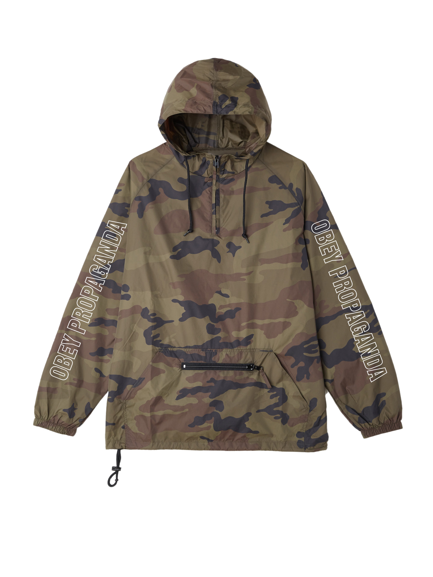 d0a82b2401931 Rough Draft Anorak Hooded Jacket - Obey Clothing UK