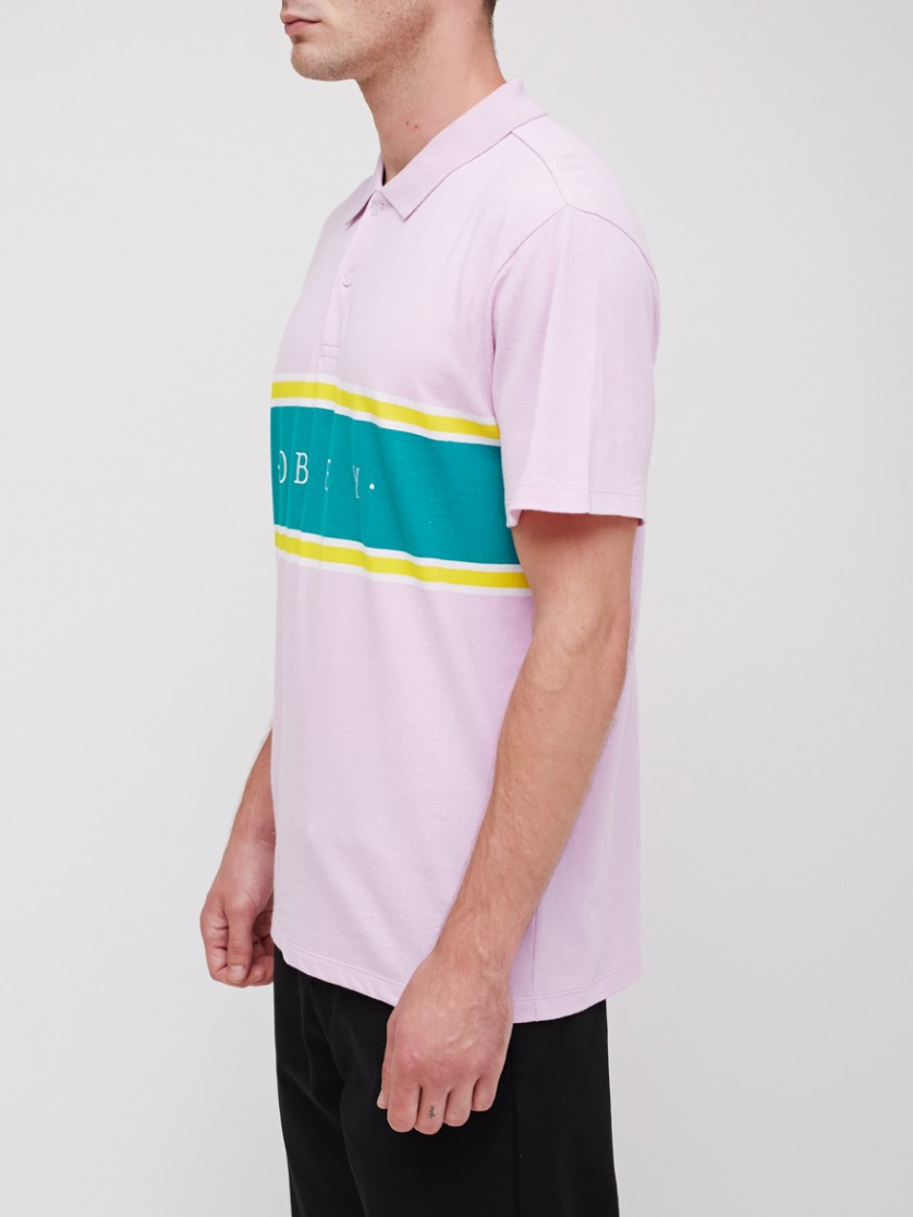 28fe4886 Palisade Polo Shirt - Obey Clothing UK