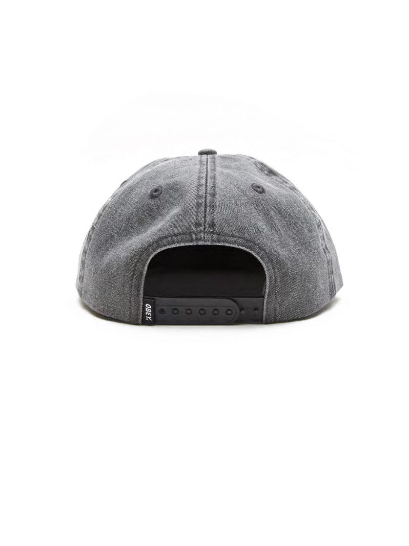 752c8b15e3f Culver 6 Panel Snapback Hat - Obey Clothing UK