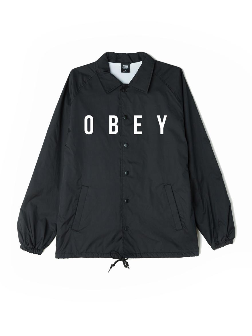 60adbdd890c7f Anyway Classic Coaches Jacket - Obey Clothing UK