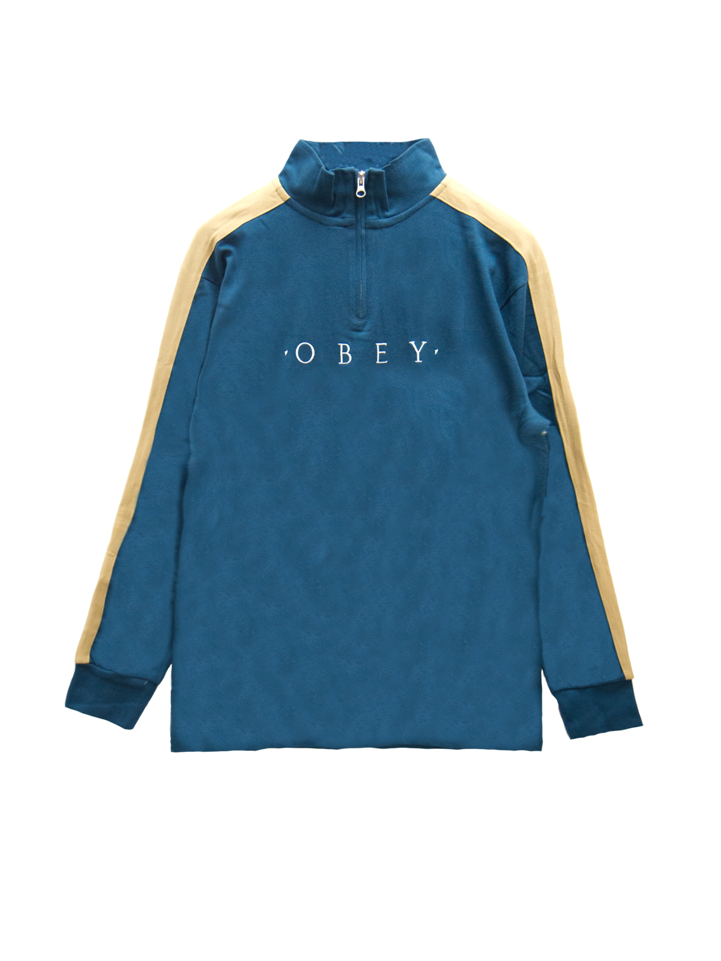 Image result for OBEY PEARL CLASSIC MOCK ZIP LEGION BLUE