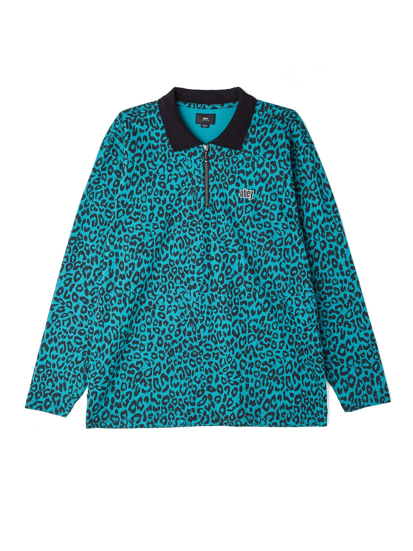 325a2817 Gimme Classic Long Sleeve Polo - Obey Clothing UK