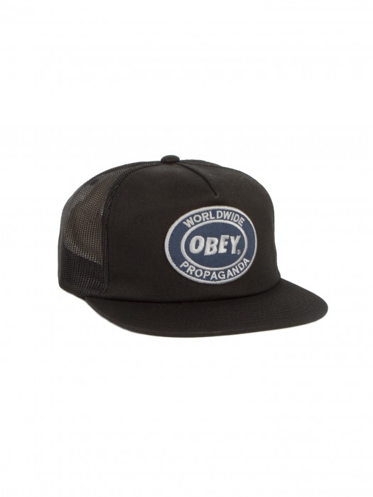 OBEY Oval Patch Trucker Hat d20cce7474d7