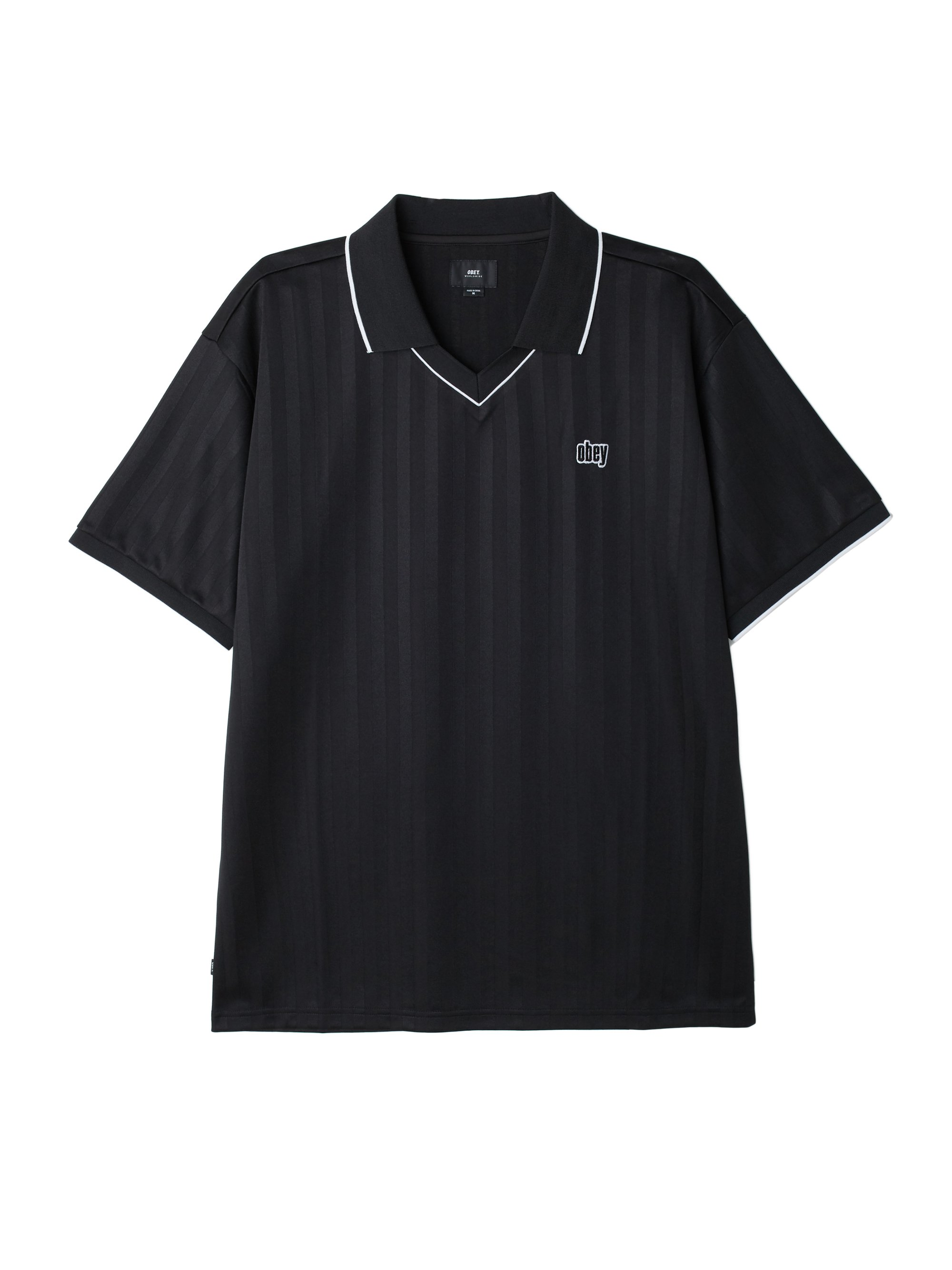 f2f4f251 Harry Soccer Polo Shirt - Obey Clothing UK
