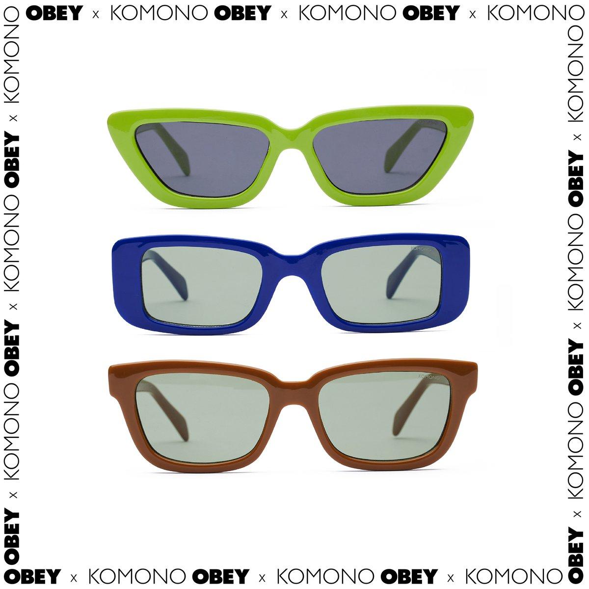 OBEY X KOMONO